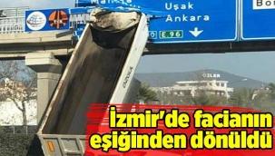 İZMİR'DE FACİADAN DÖNÜLDÜ!
